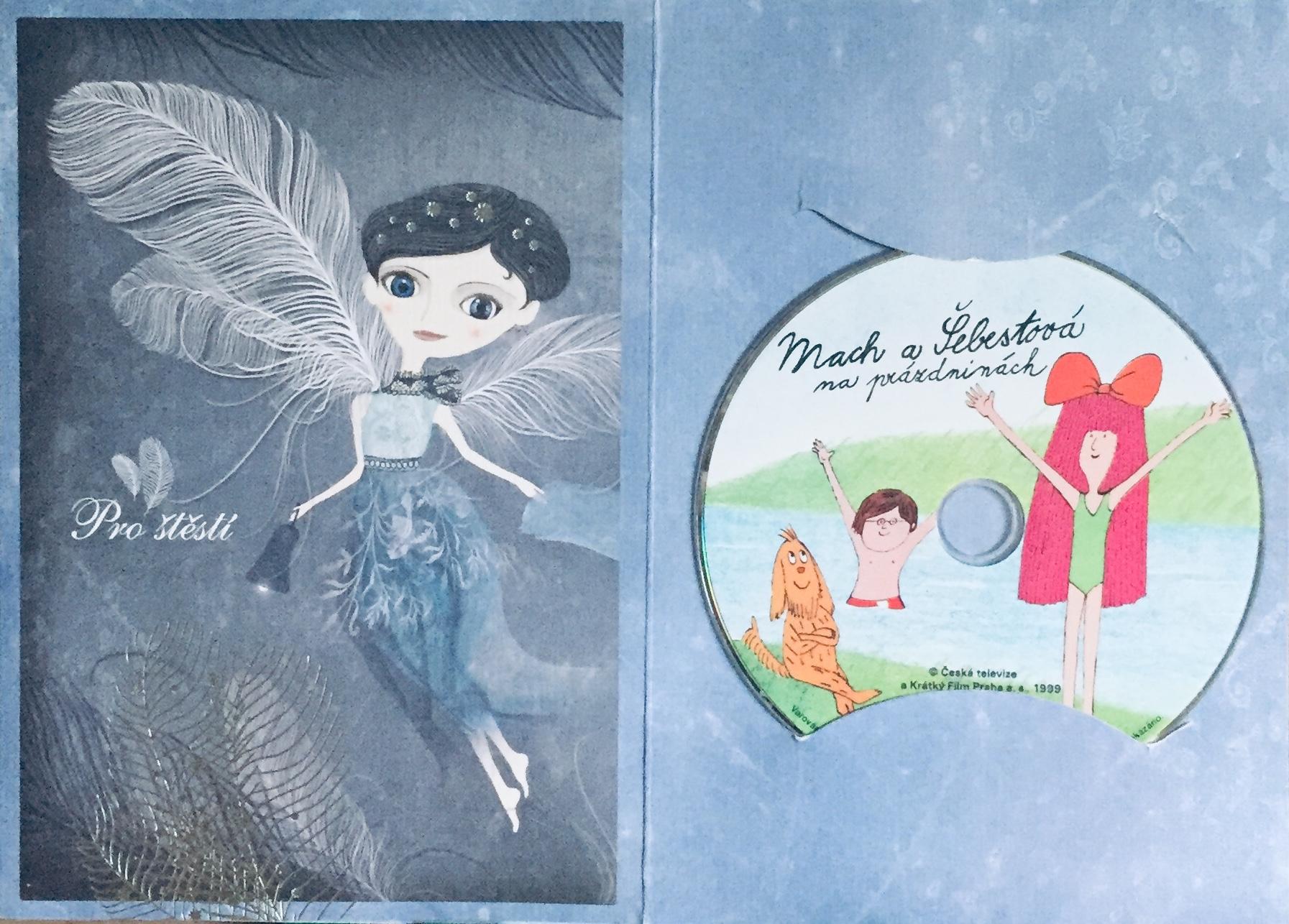 Mach a Šebestová na prázdninách - DVD /dárkový obal/