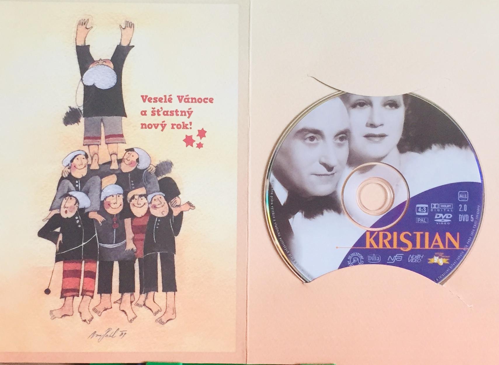 Kristian - DVD /dárkový obal/
