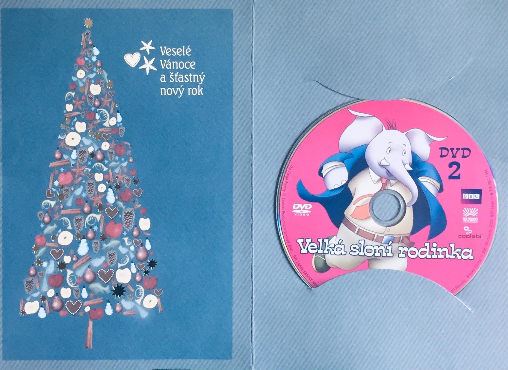 Velká sloní rodinka 2 - DVD /dárkový obal/