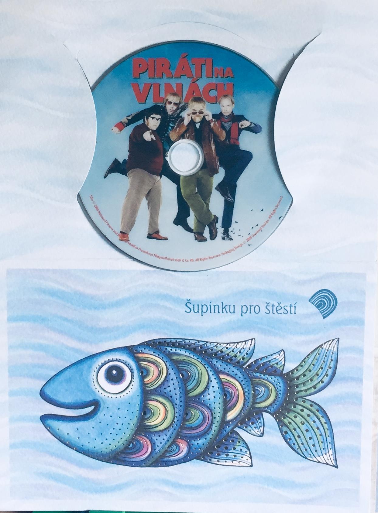 Piráti na vlnách - DVD /dárkový obal/