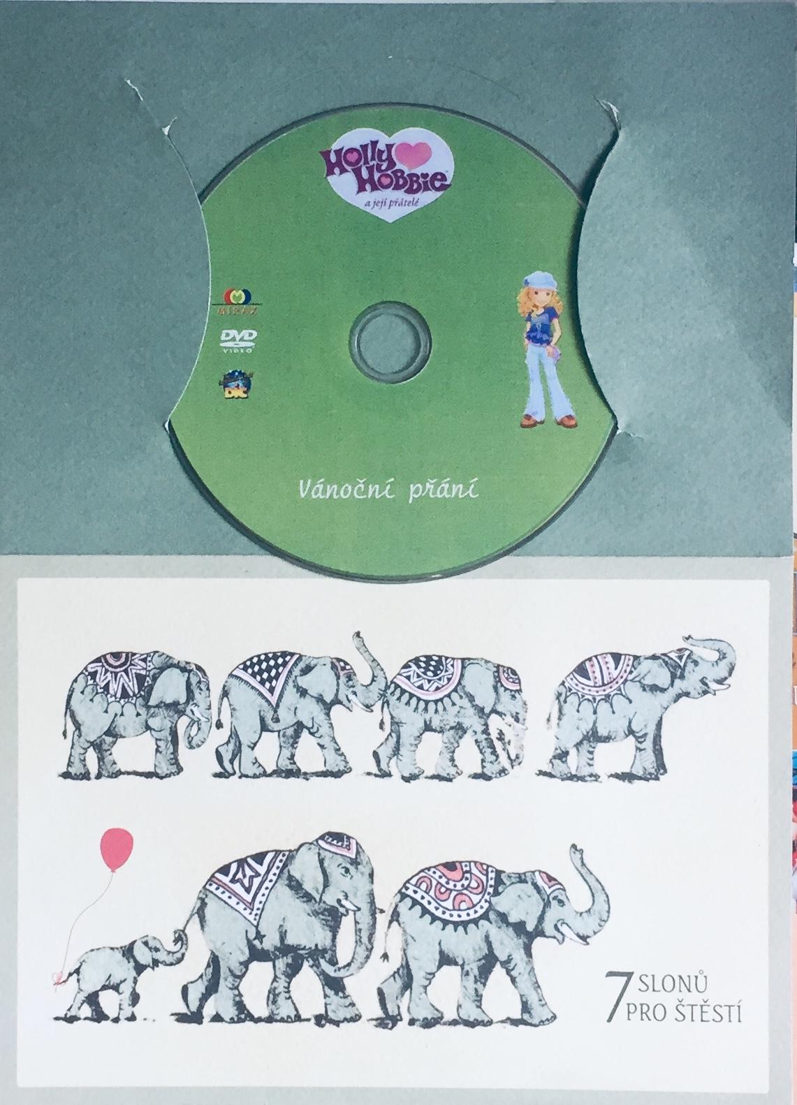 Holly Hobbie a její přátelé - Vánoční přání - DVD /dárkový obal/