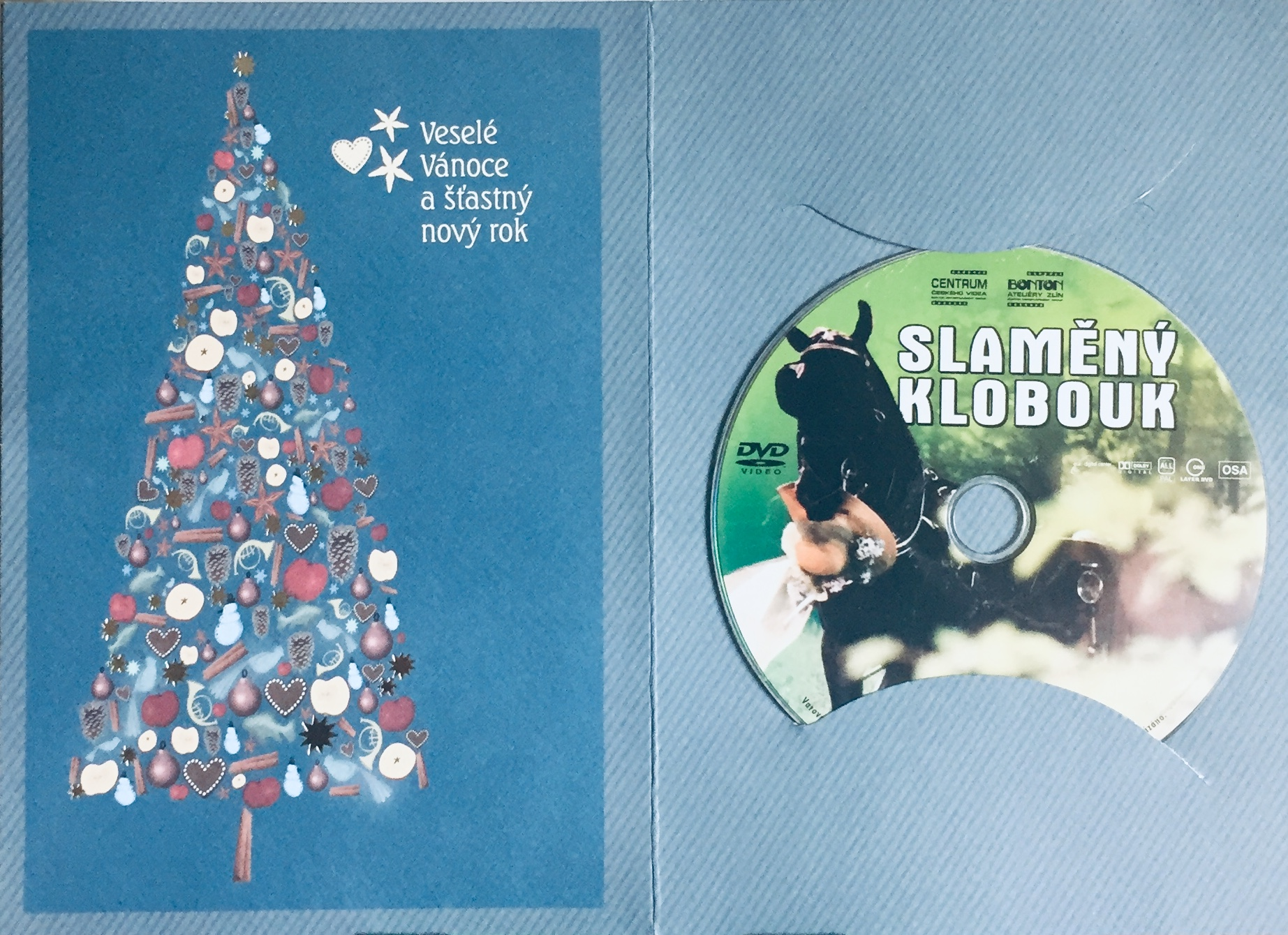 Slaměný klobouk - DVD /dárkový obal/