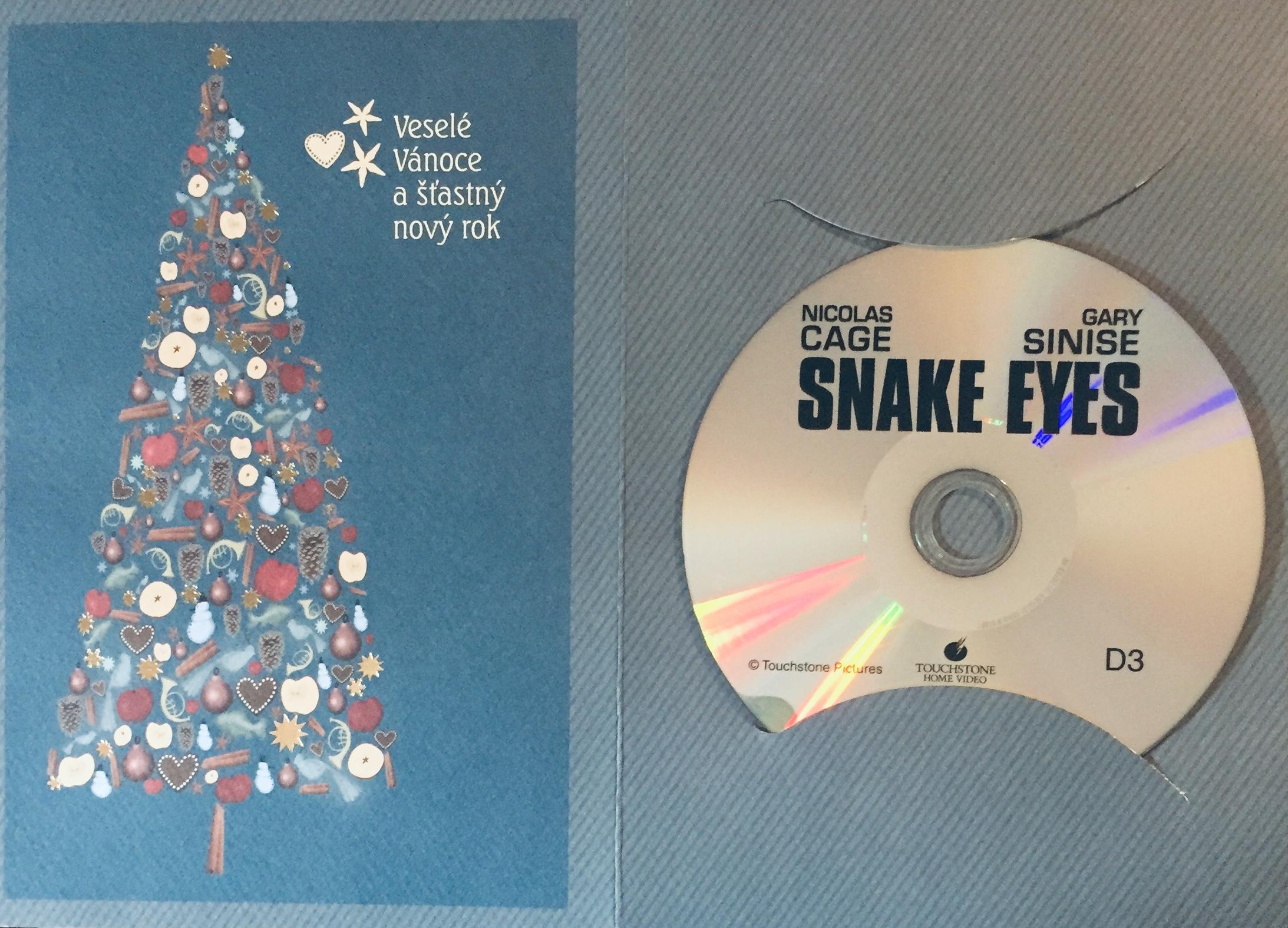 Snake eyes / Hadí oči - DVD /dárkový obal/