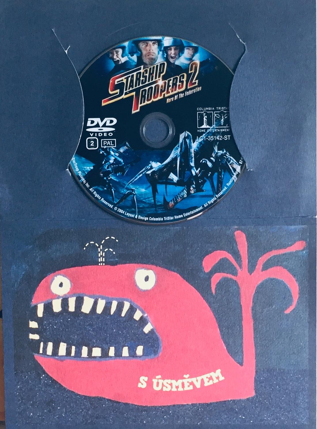 Starship Troopers 2 / Hvězdná pěchota 2 - Hrdinové Federace - DVD /dárkový obal/