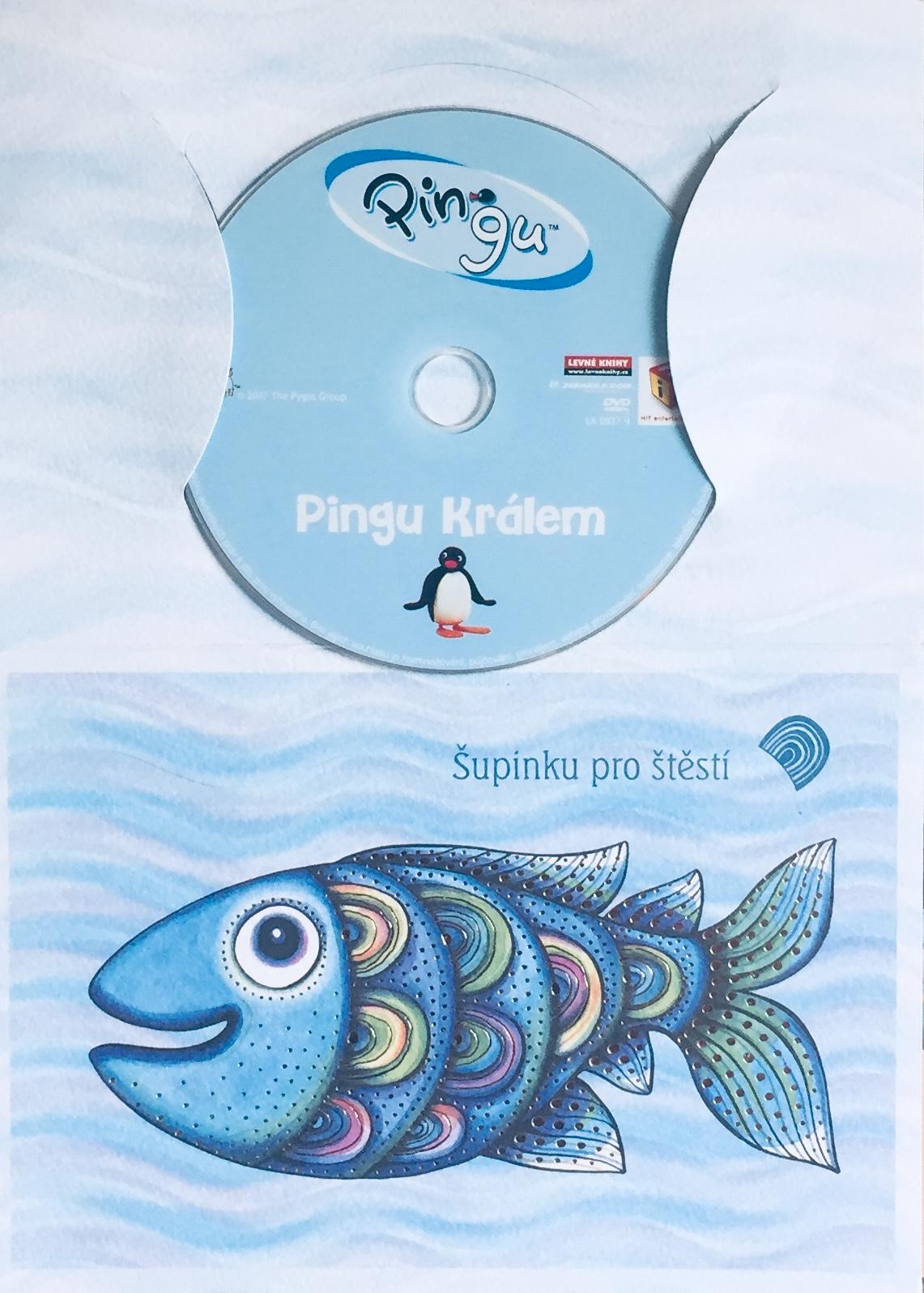 Pingu - Pingu králem - DVD /dárkový obal/