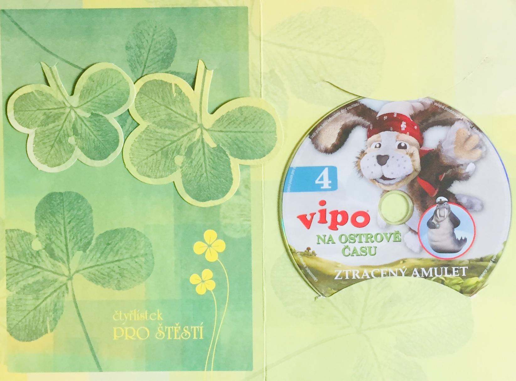 Vipo 4 - Na ostrově času - Ztracený amulet - DVD /dárkový obal/