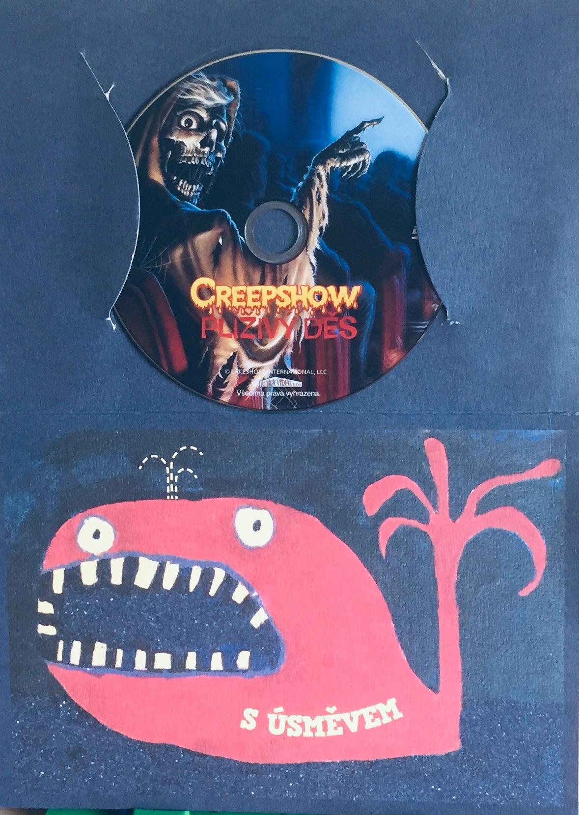 Creepshow - Plíživý děs - DVD /dárkový obal/