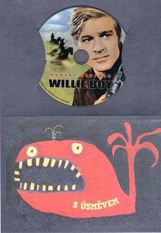 Willie Boy - DVD - bazrové zboží ( dárková obálka)