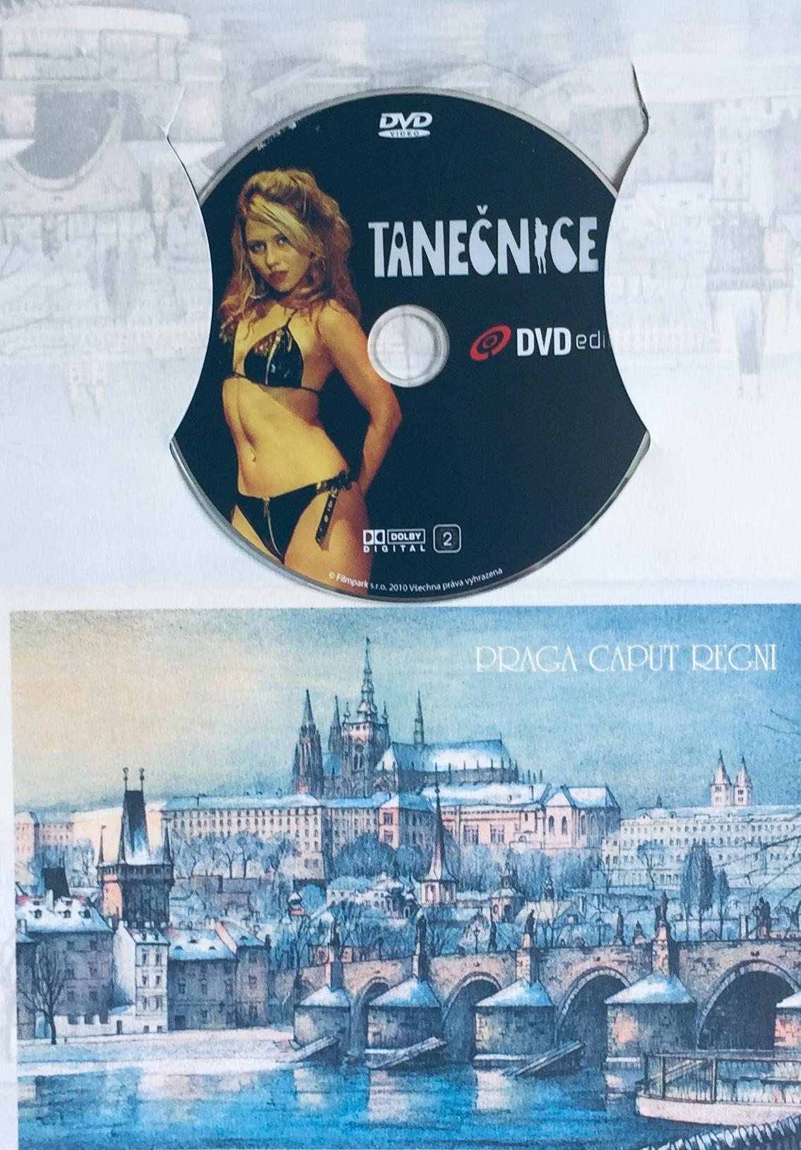 Tanečnice - DVD /dárkový obal/