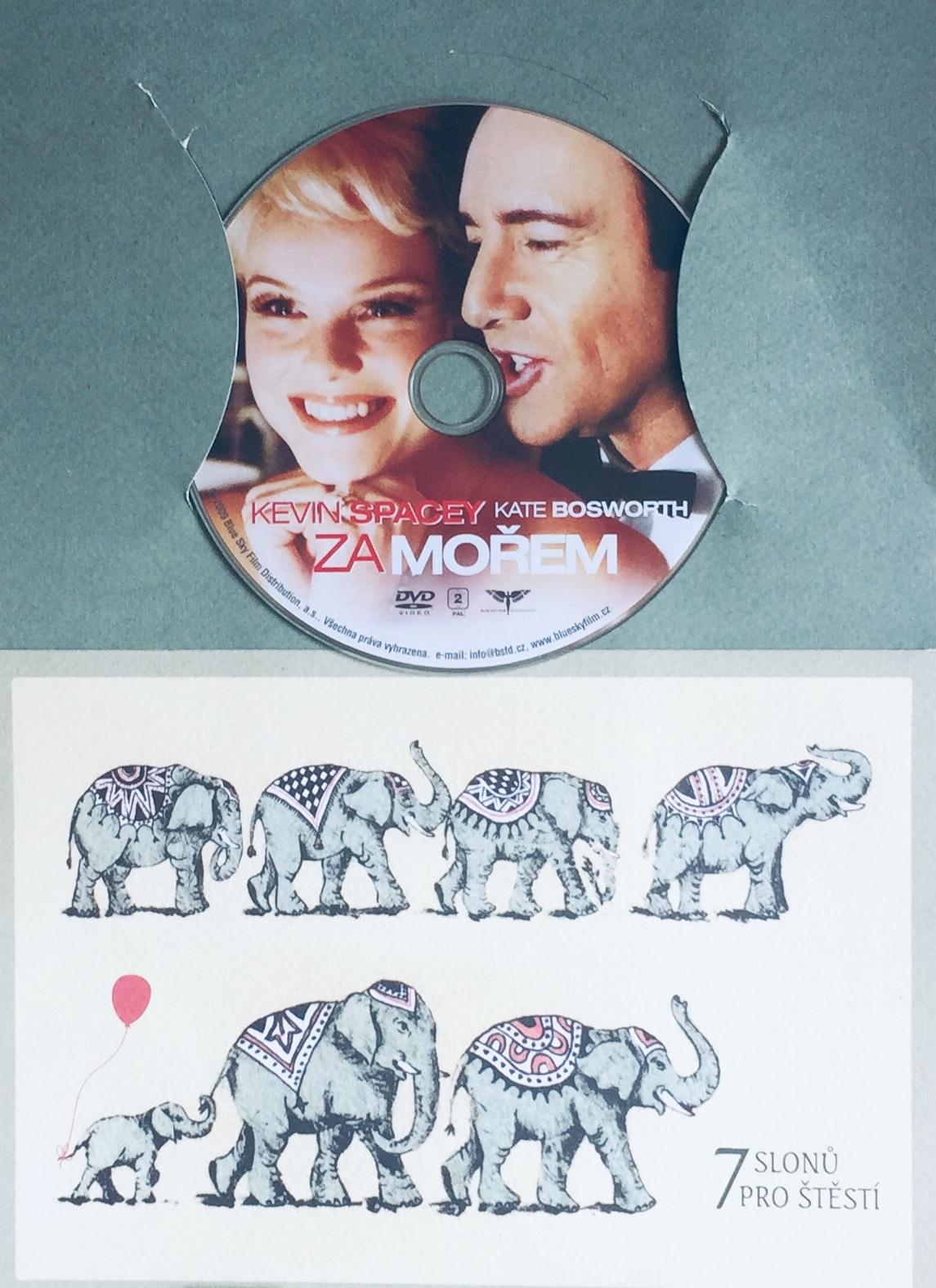 Za mořem - DVD /dárkový obal/