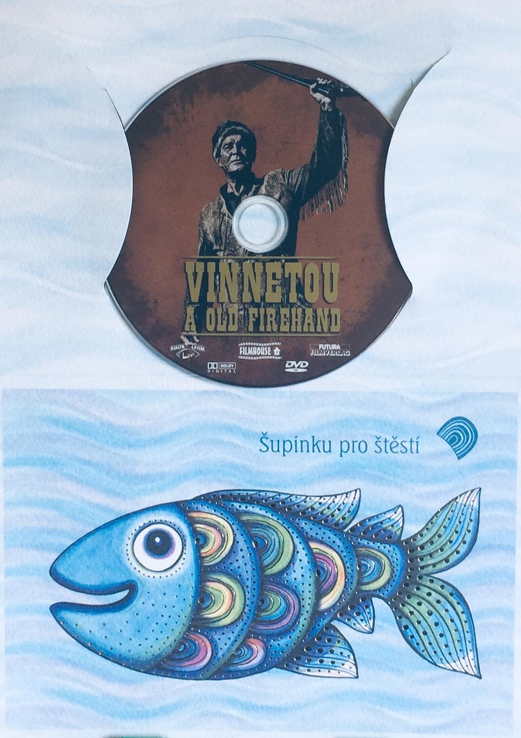 Vinnetou a Old Firehand - DVD /dárkový obal/