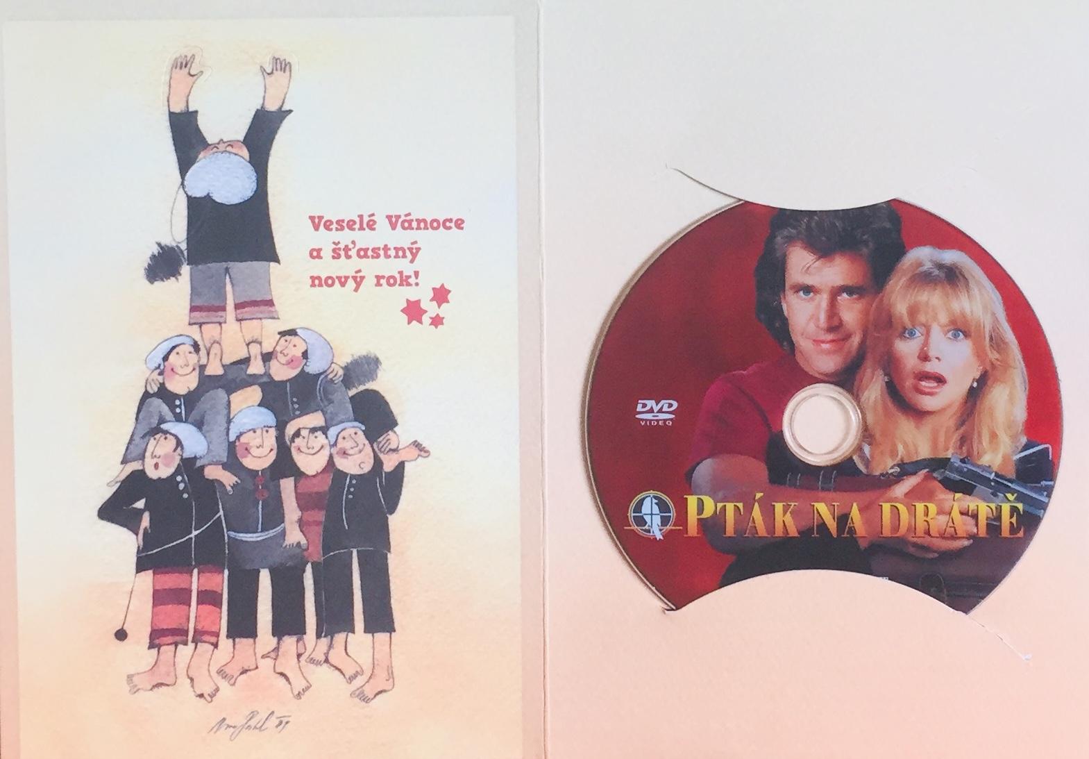 Pták na drátě - DVD /dárkový obal/