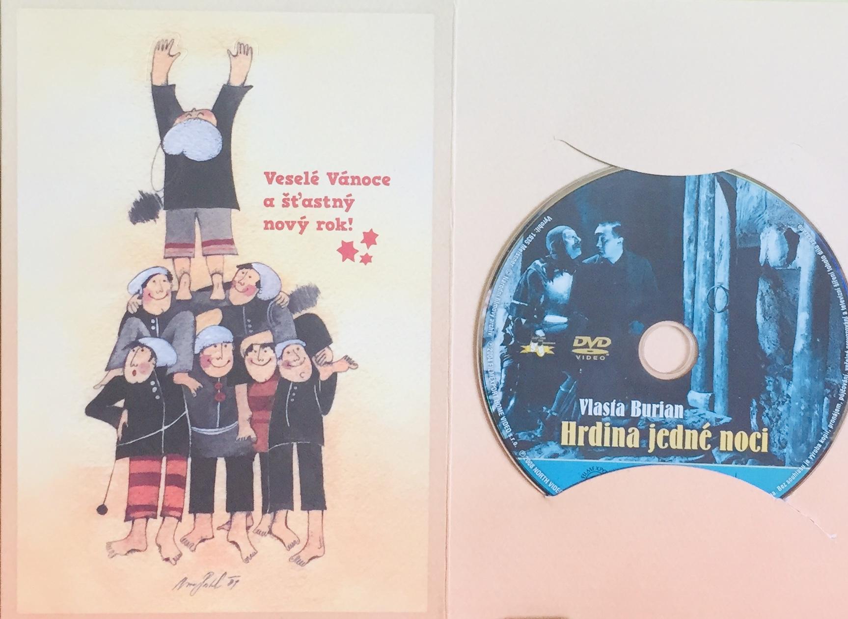 Hrdina jedné noci - DVD /dárkový obal/