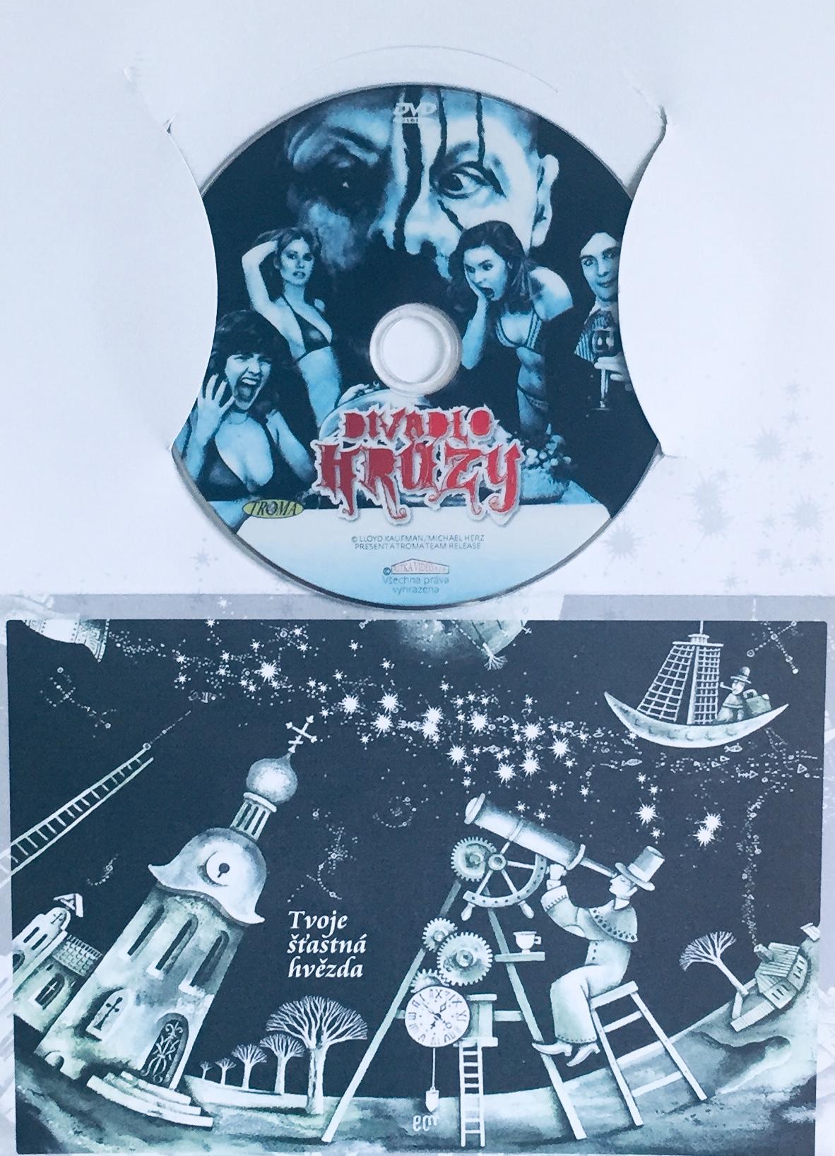 Divadlo hrůzy - DVD /dárkový obal/