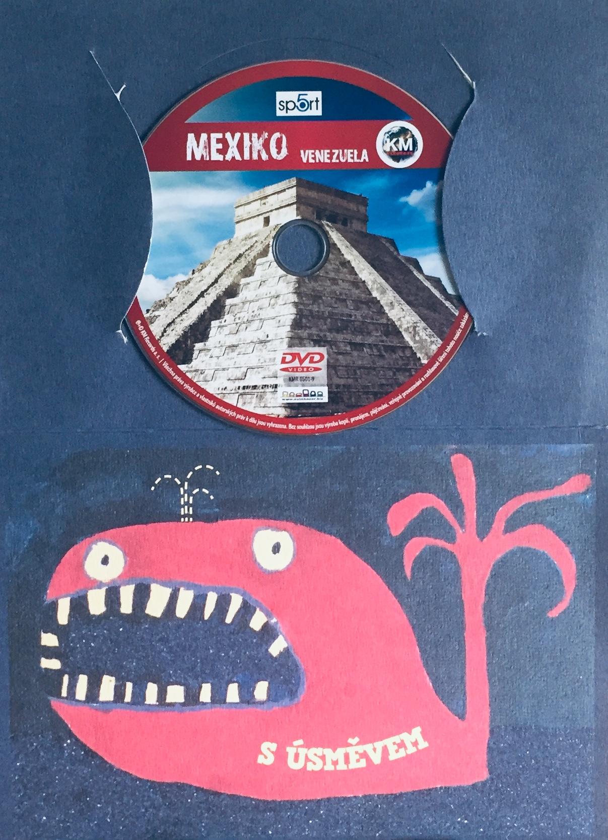Mexiko Venezuela - DVD /dárkový obal/