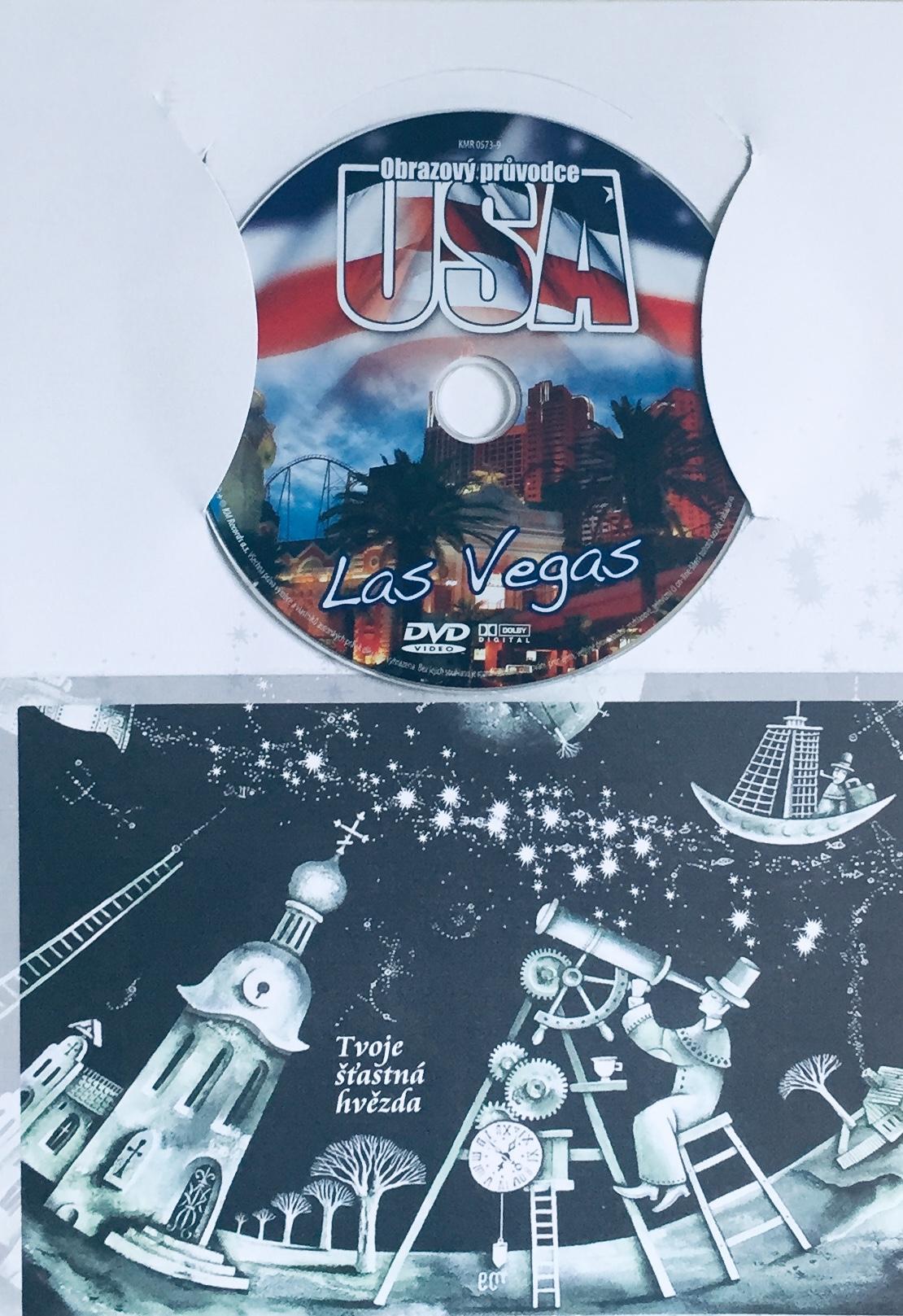 Obrazový průvodce - USA - Las Vegas - DVD /dárkový obal/