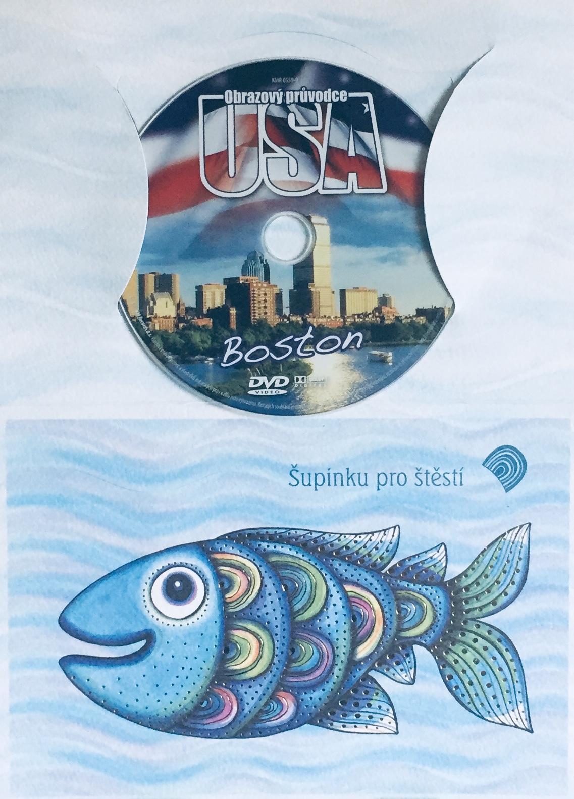 Obrazový průvodce - USA - Boston - DVD /dárkový obal/