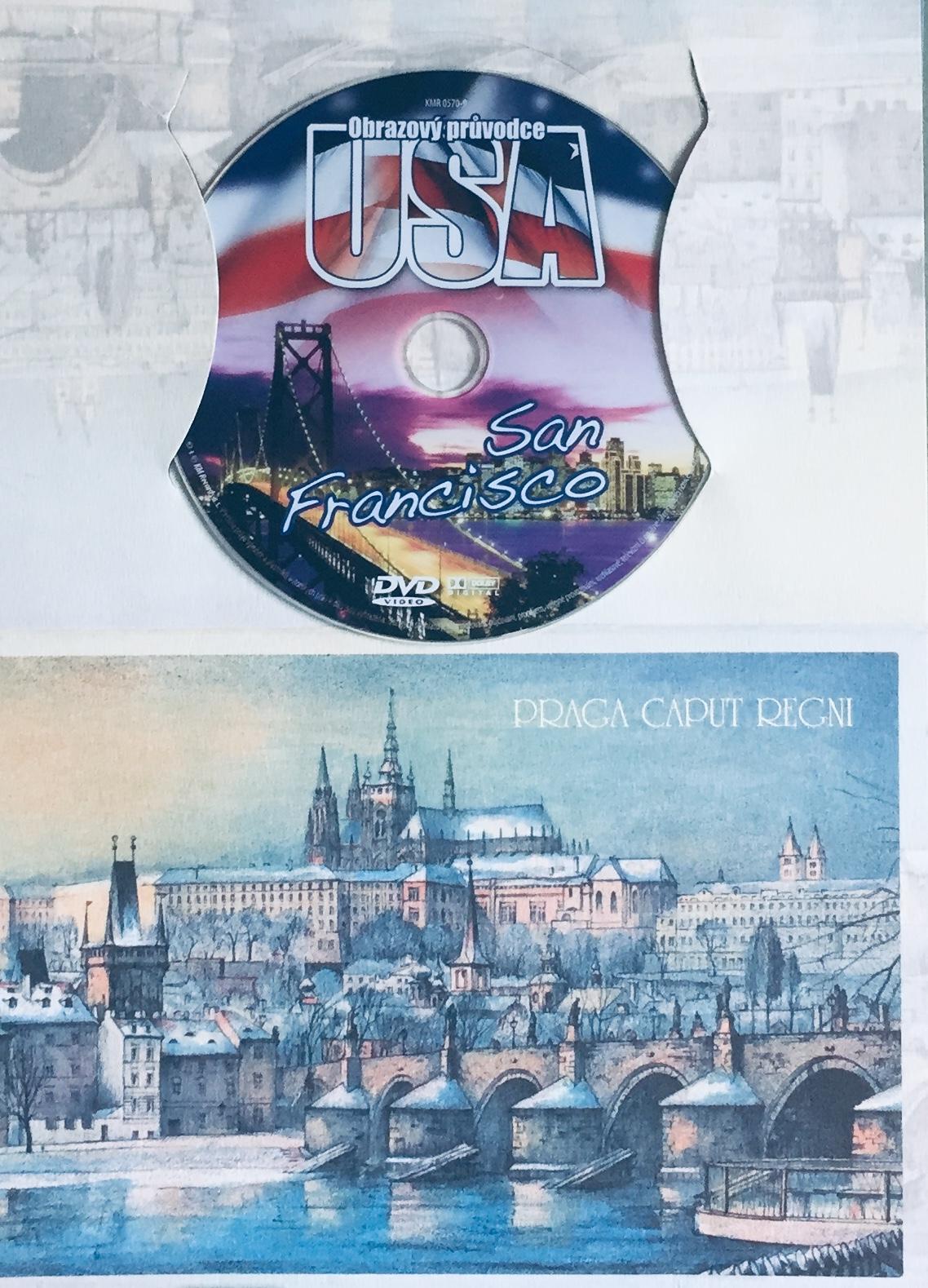 Obrazový průvodce - USA - San Francisco - DVD /dárkový obal/