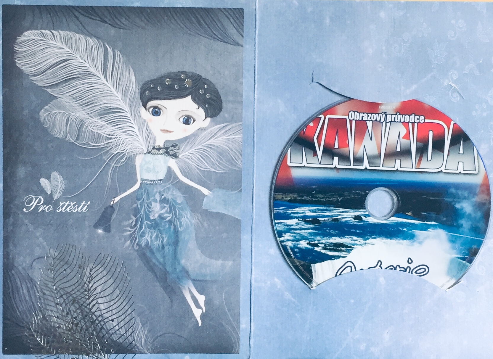 Obrazový průvodce - Kanada - Ontario - DVD /dárkový obal/