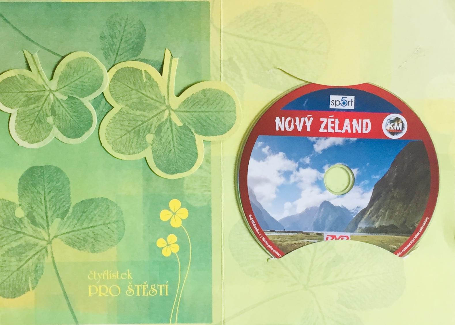 Nový Zéland - DVD /dárkový obal/