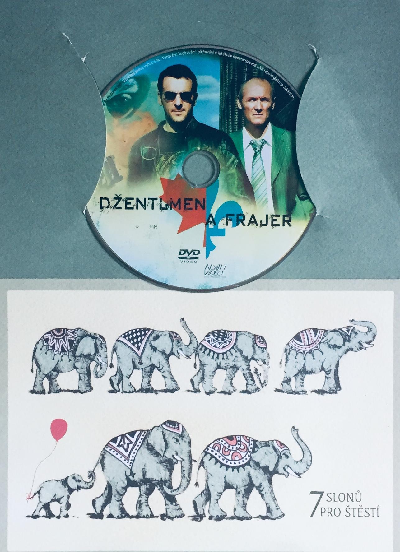Džentlmen a frajer - DVD /dárkový obal/
