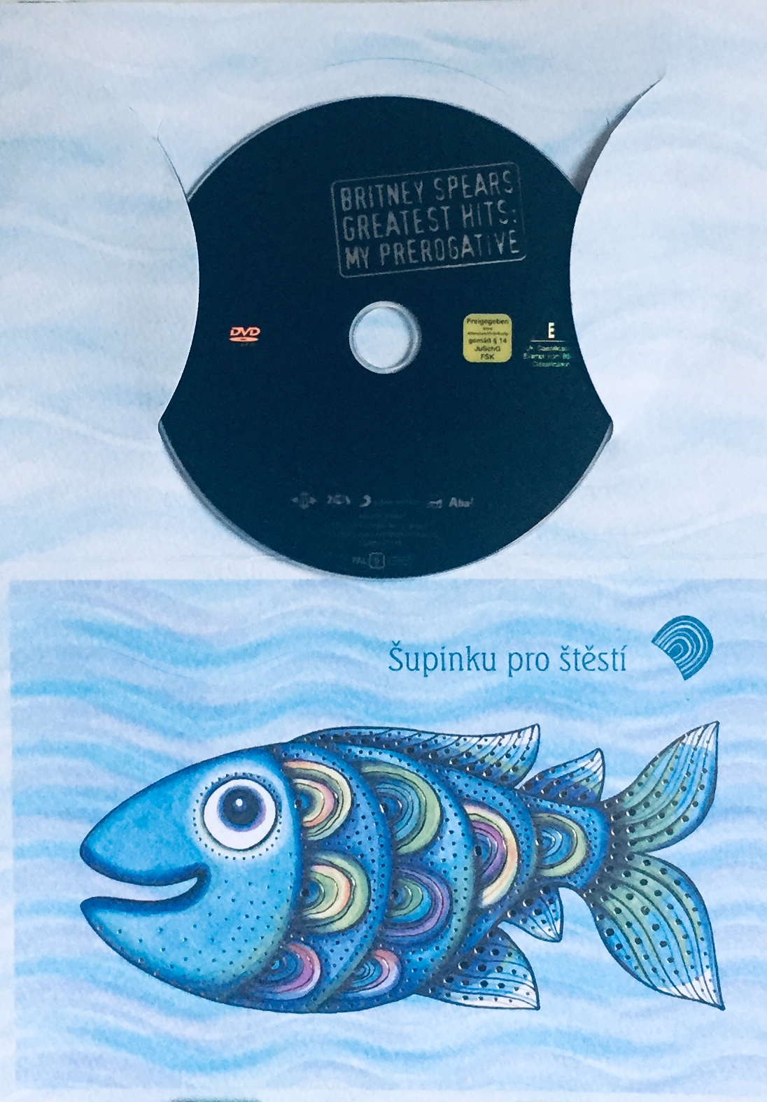 Britney Spears - Greatest Hits: My Prerogative - DVD /dárkový obal/