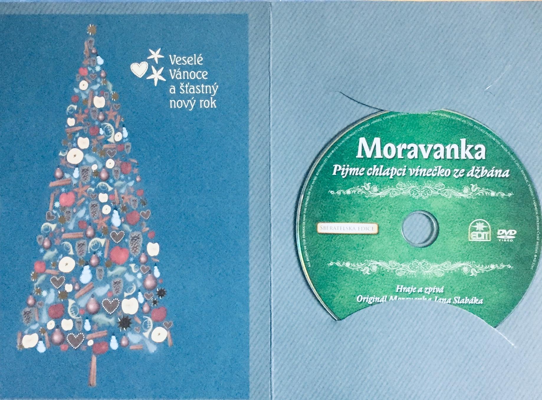 Moravanka - Pijme chlapci vínečko ze džbána - DVD /dárkový obal/