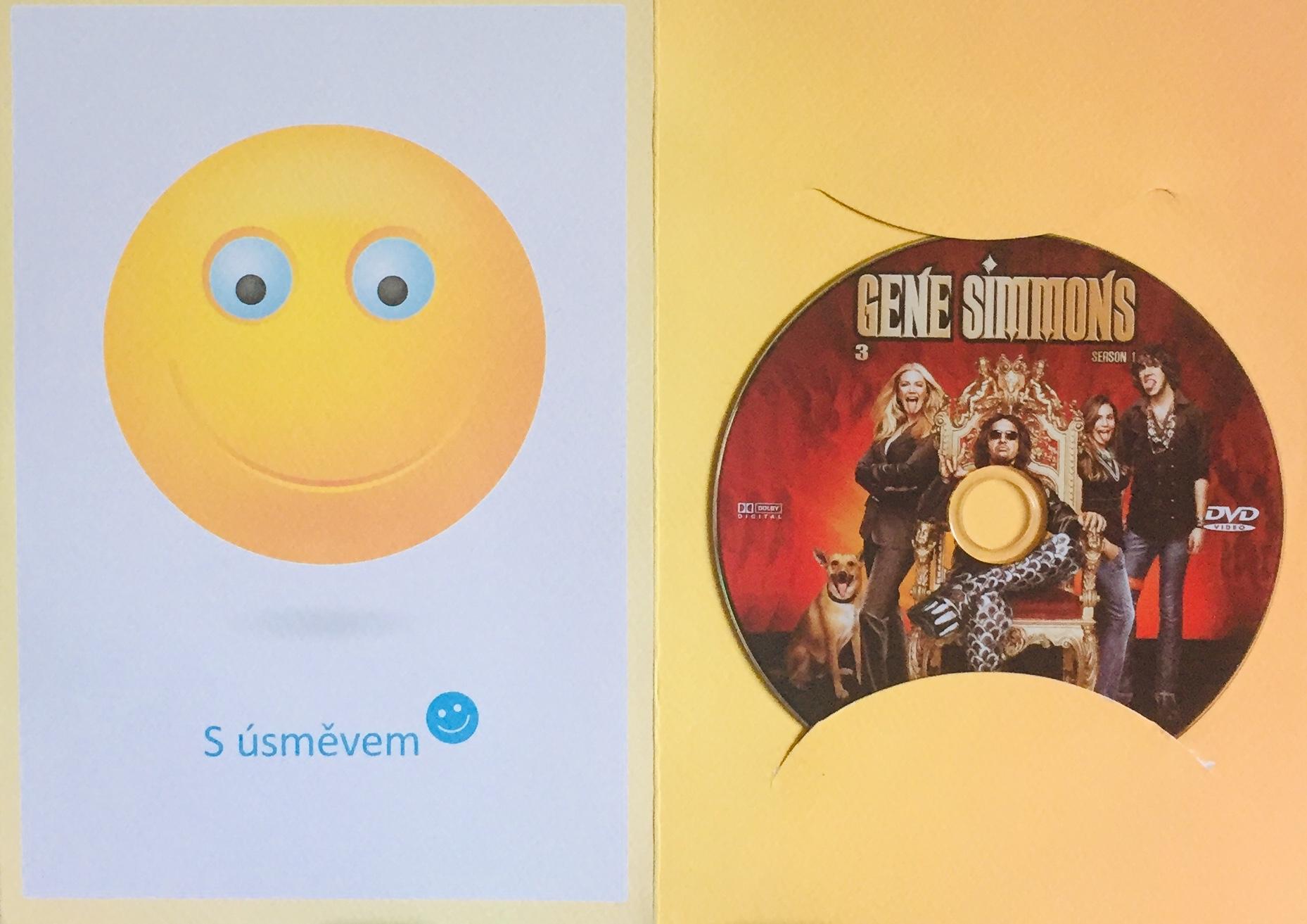 Gene Simmons - Rodinné klenoty 3 - DVD /dárkový obal/