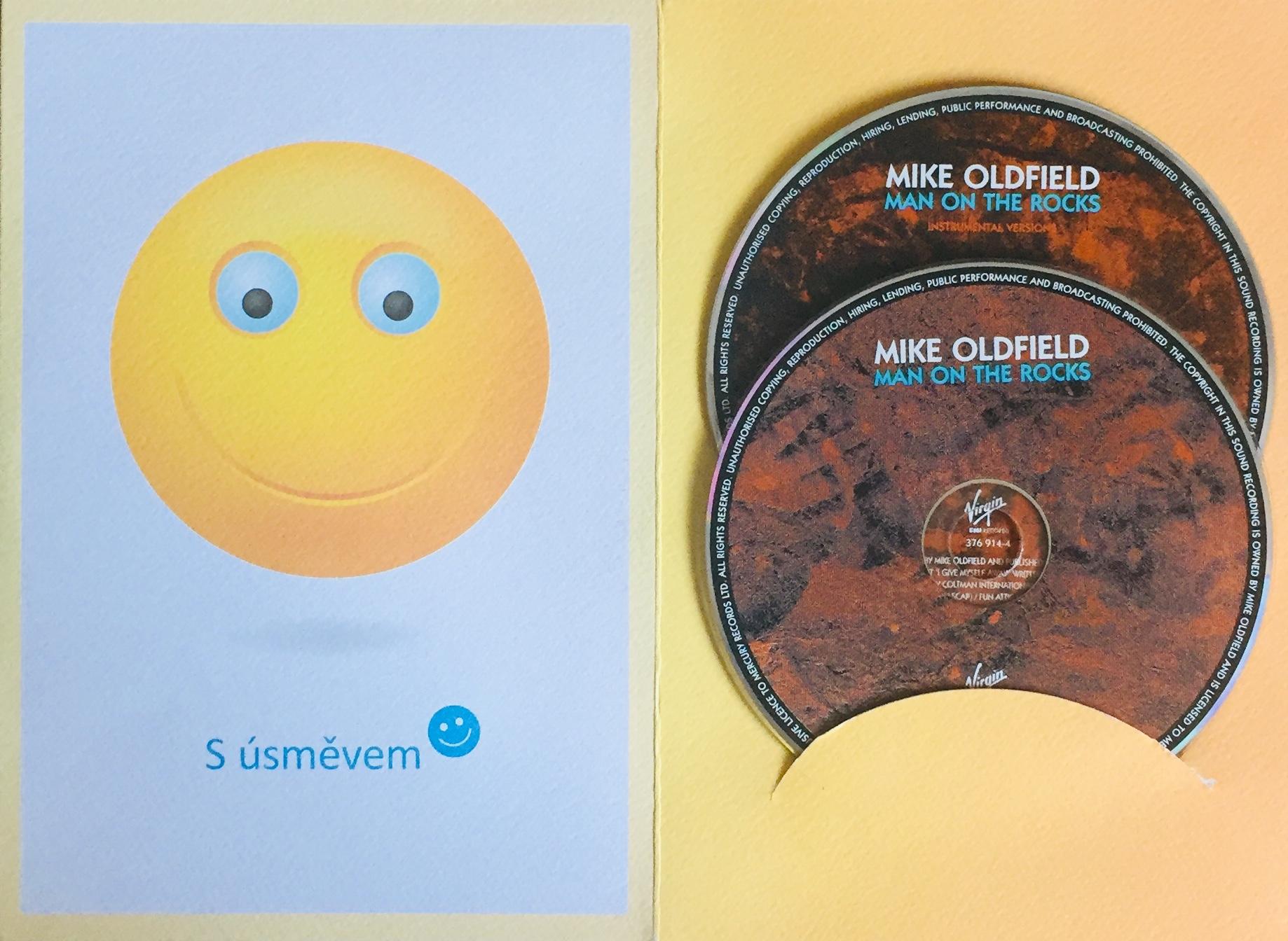 Mike Oldfield - Man on the Rocks - CD - 2xCD /dárkový obal/