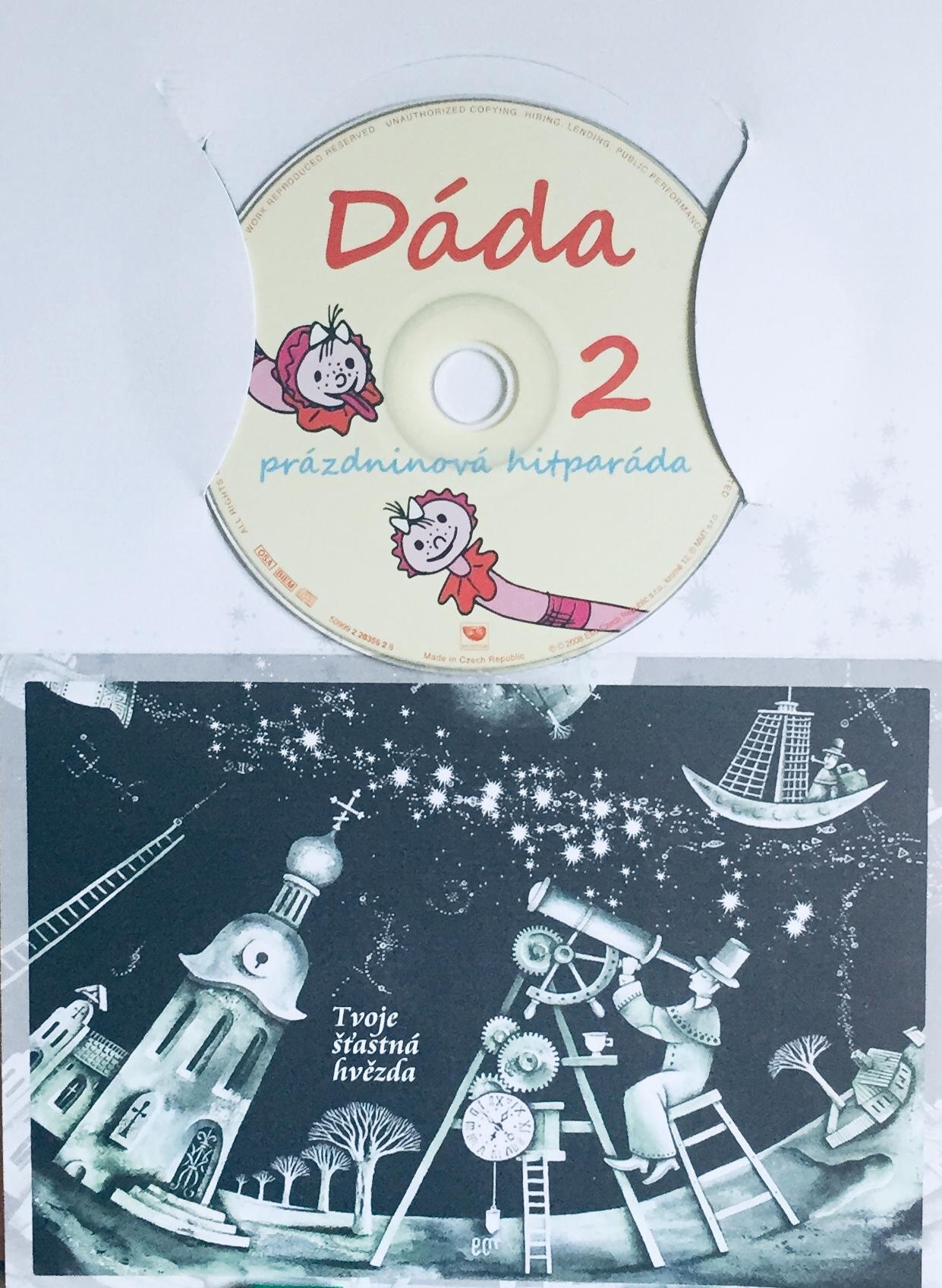 Dáda prázdninová hitparáda 2 - CD /dárkový obal/
