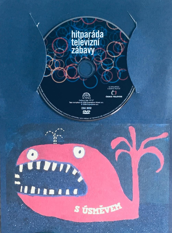 Hitparáda televizní zábavy - DVD /dárkový obal/