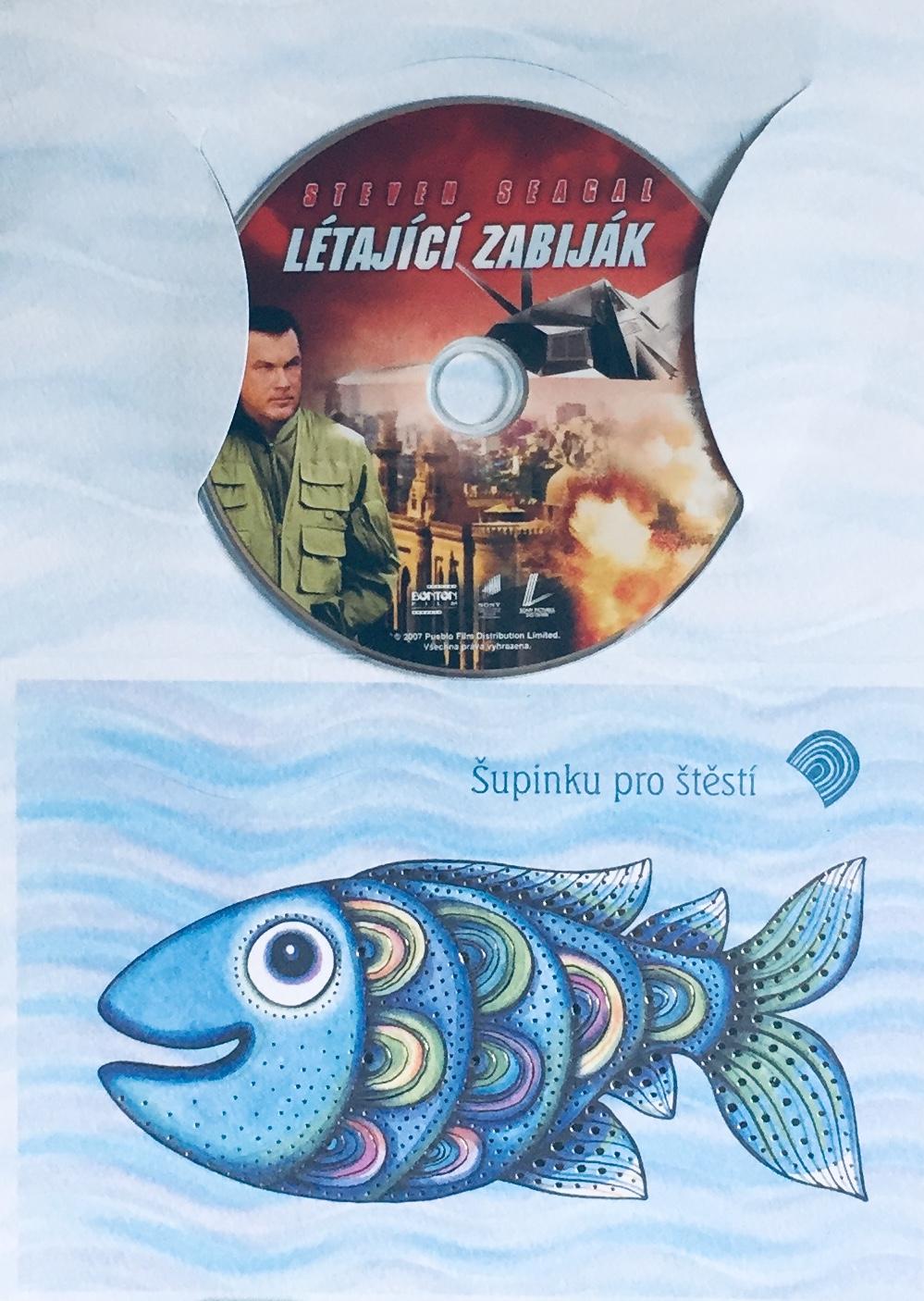 Létající zabiják - DVD /dárkový obal/