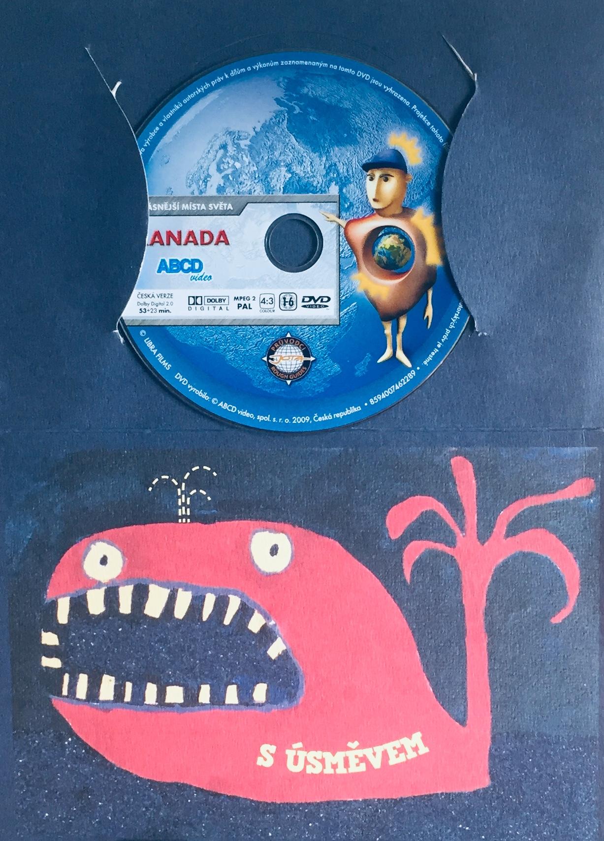 Nejkrásnější místa světa - Kanada - DVD /dárkový obal/