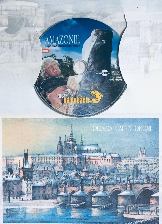 S Jakubem na rybách - Amazonie - 1. část - DVD /dárkový obal/