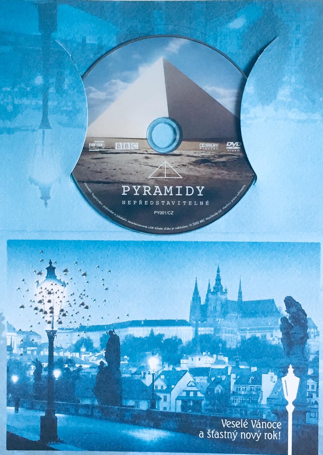 Pyramidy - Nepředstavitelné - DVD /dárkový obal/