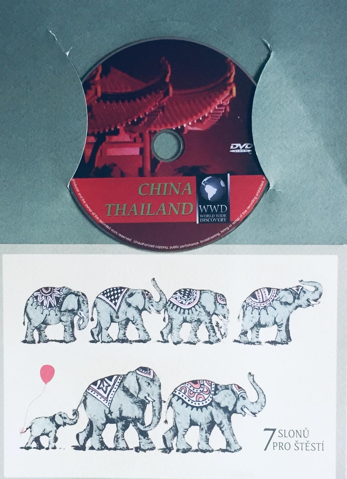 Čína / Thajsko - WWD - DVD /dárkový obal/