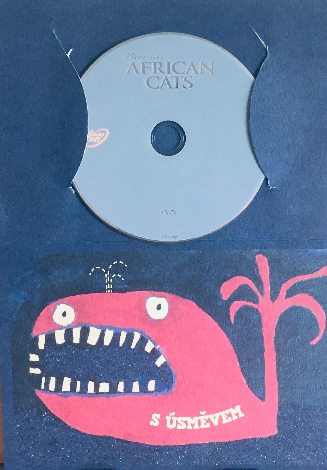 African Cats / Africké kočky - DVD /dárkový obal/