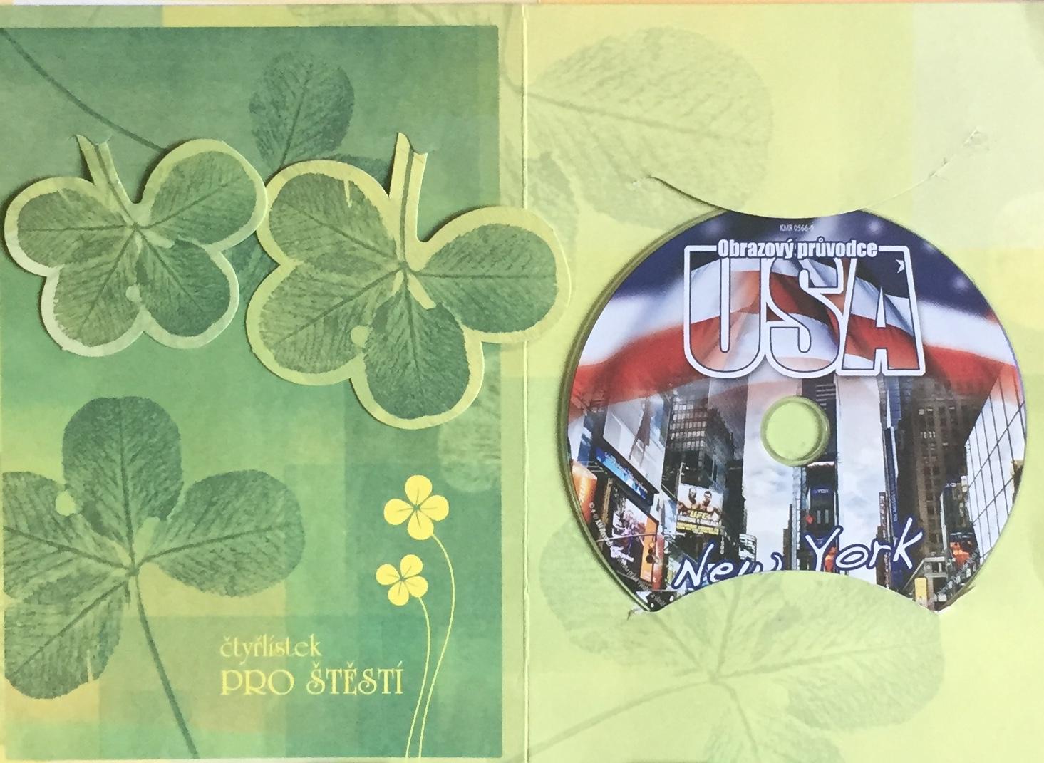 Obrazový průvodce - USA - New York - DVD /dárkový obal/