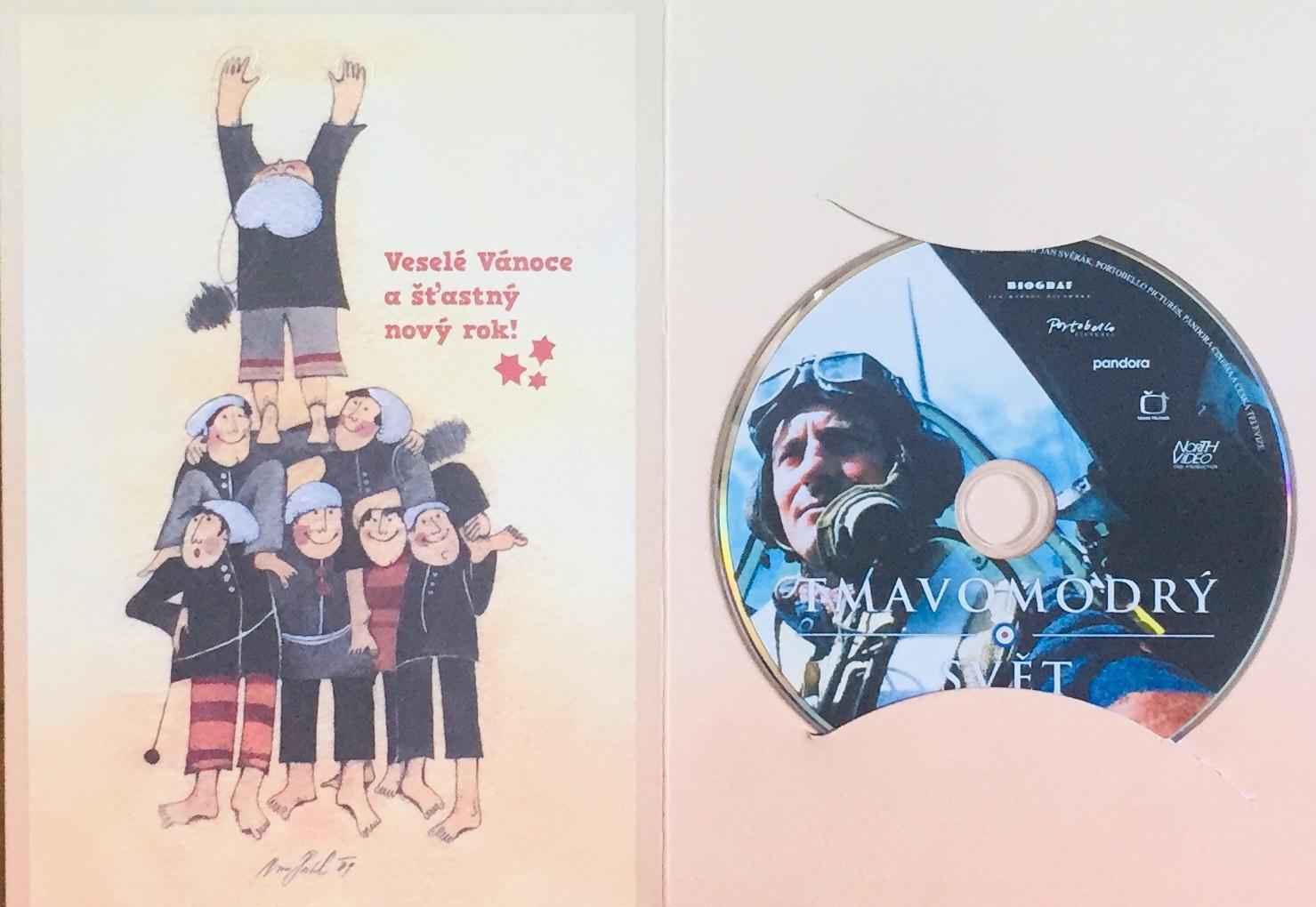 Tmavomodrý svět - DVD /dárkový obal/