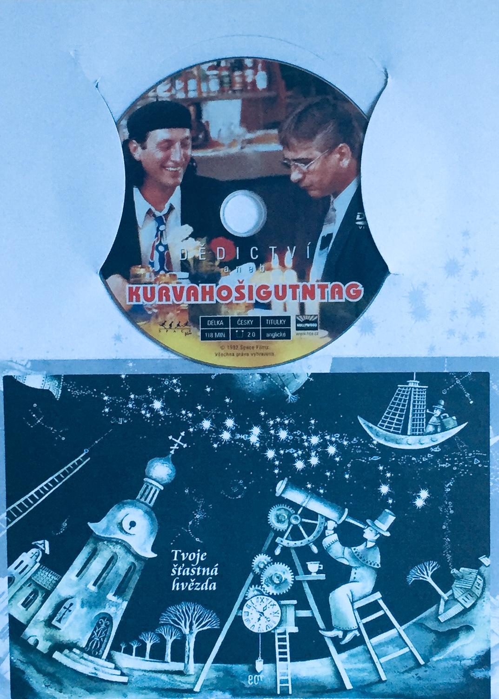 Dědictví aneb Kurvahošigutntag - DVD /dárkový obal/