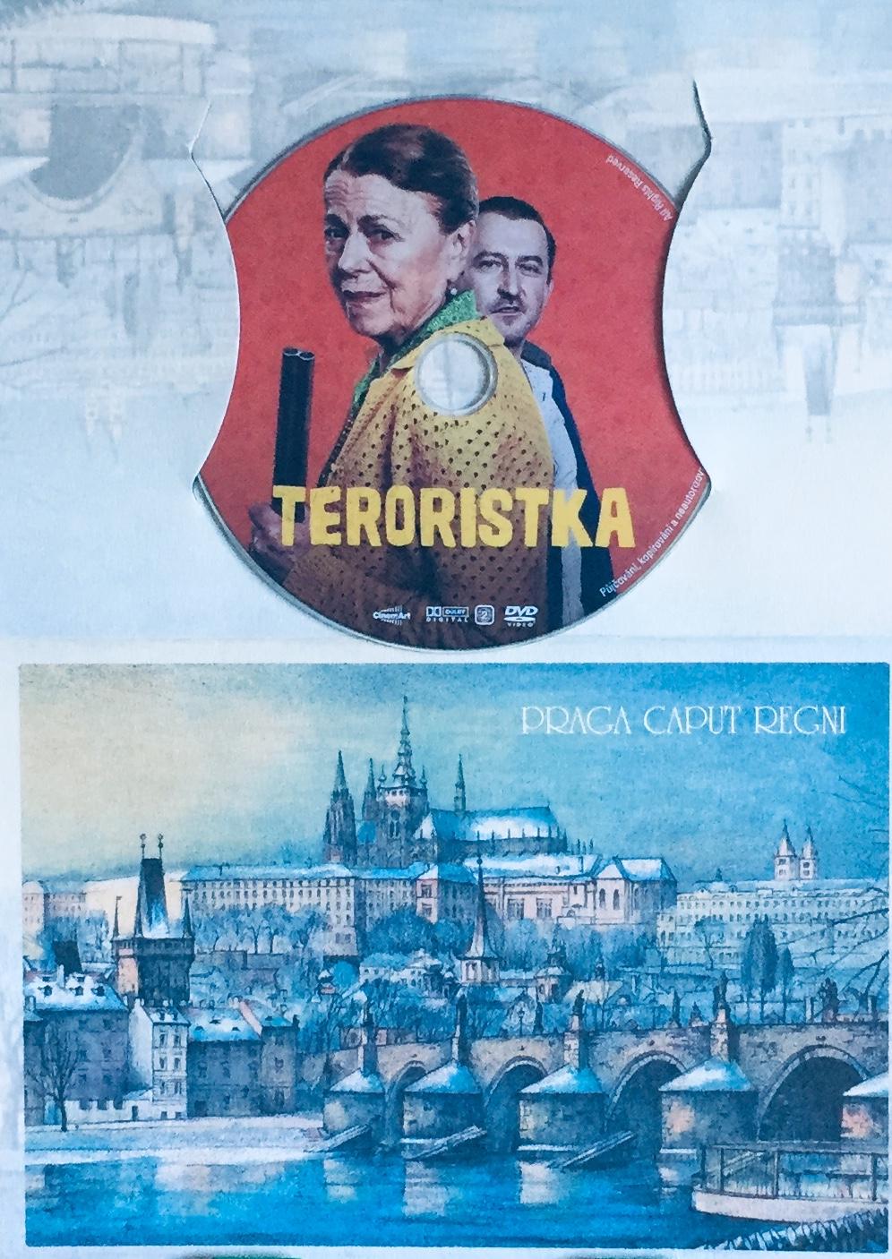 Teroristka - DVD /dárkový obal/