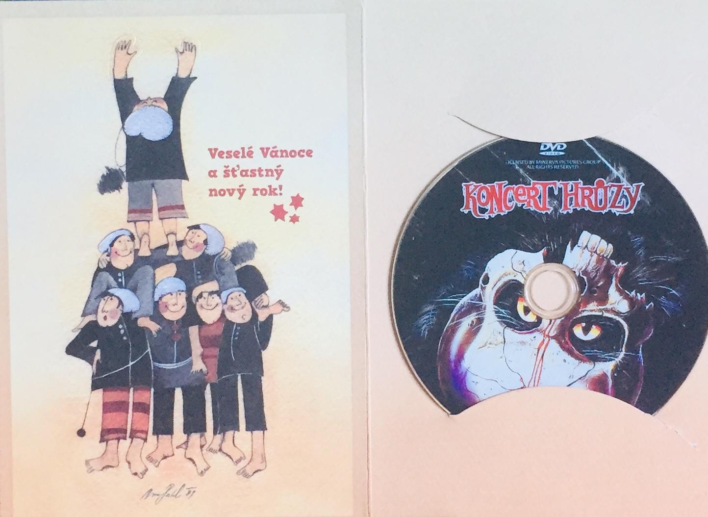 Koncert hrůzy - DVD /dárkový obal/