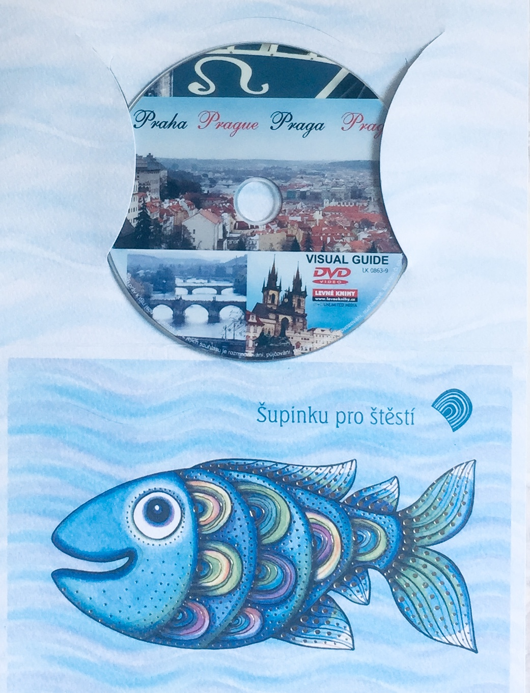 Visual Guide Prague - DVD /dárkový obal/