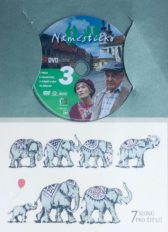 Náměstíčko 3 - DVD /dárkový obal/