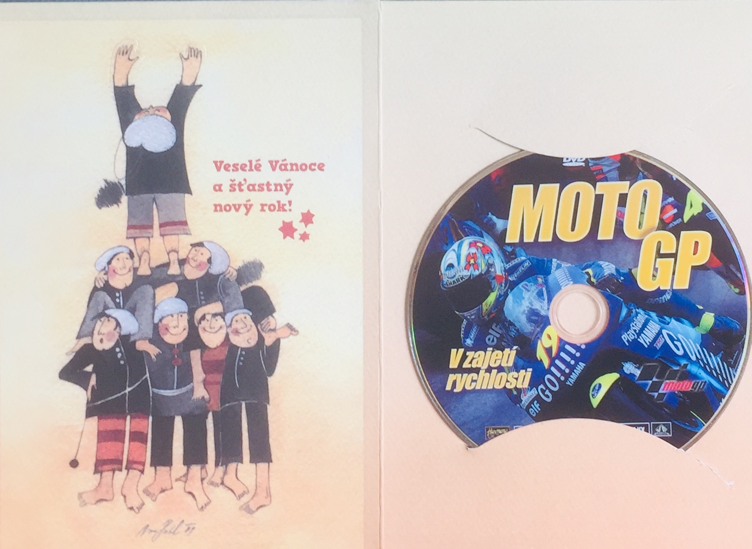 Moto GP - V zajetí rychlosti - DVD /dárkový obal/
