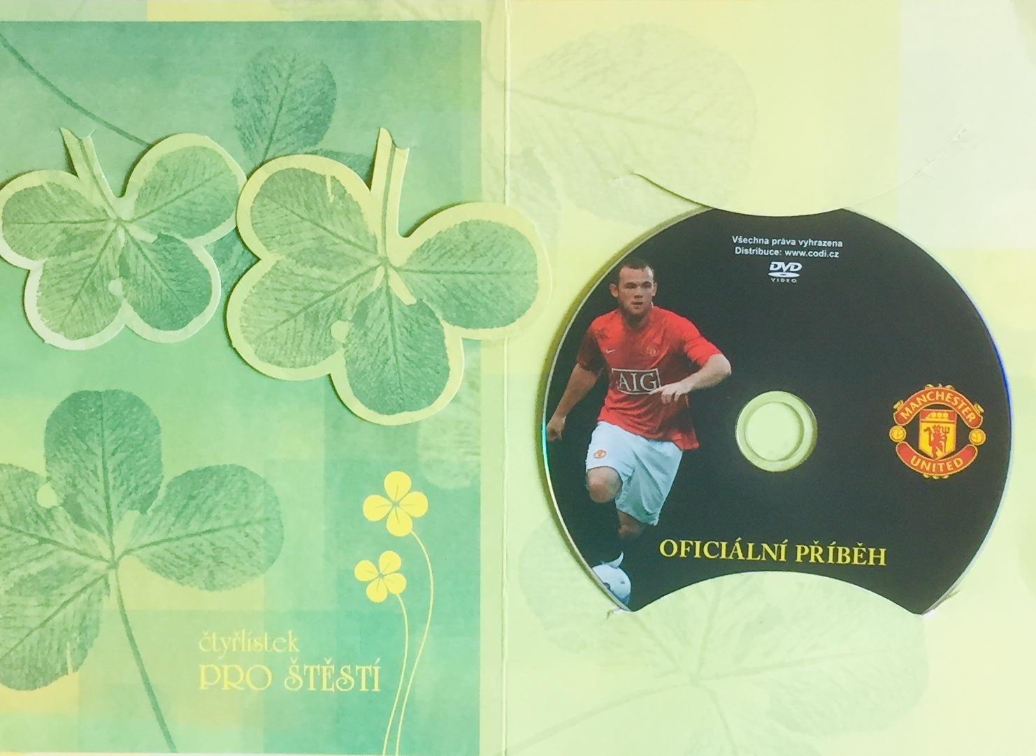 Manchester United - Oficiální příběh - DVD /dárkový obal/