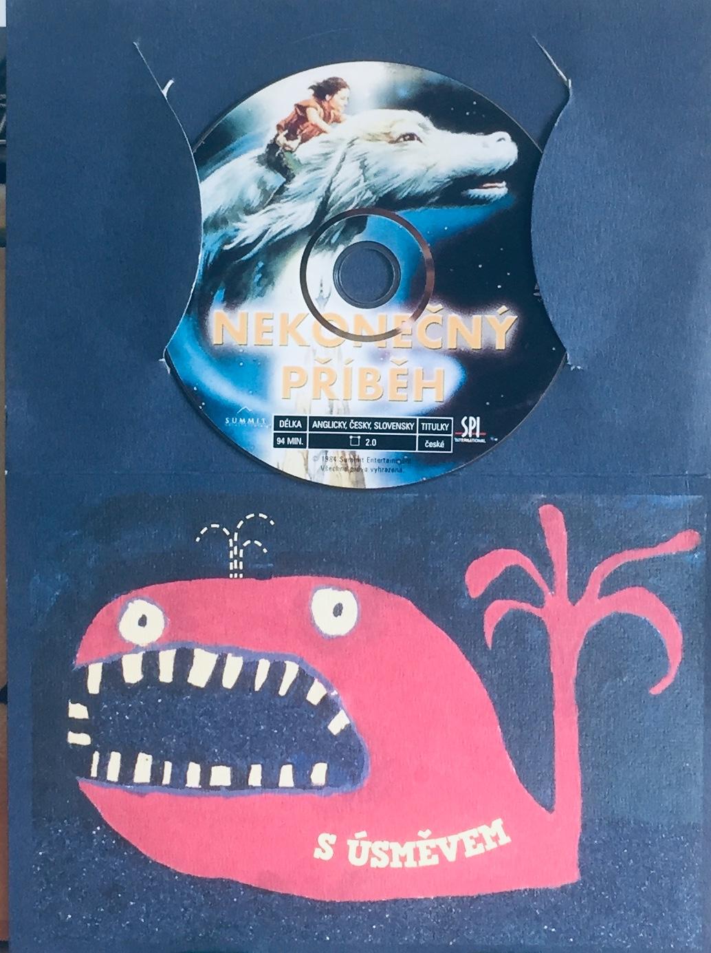 Nekonečný příběh - DVD /dárkový obal/