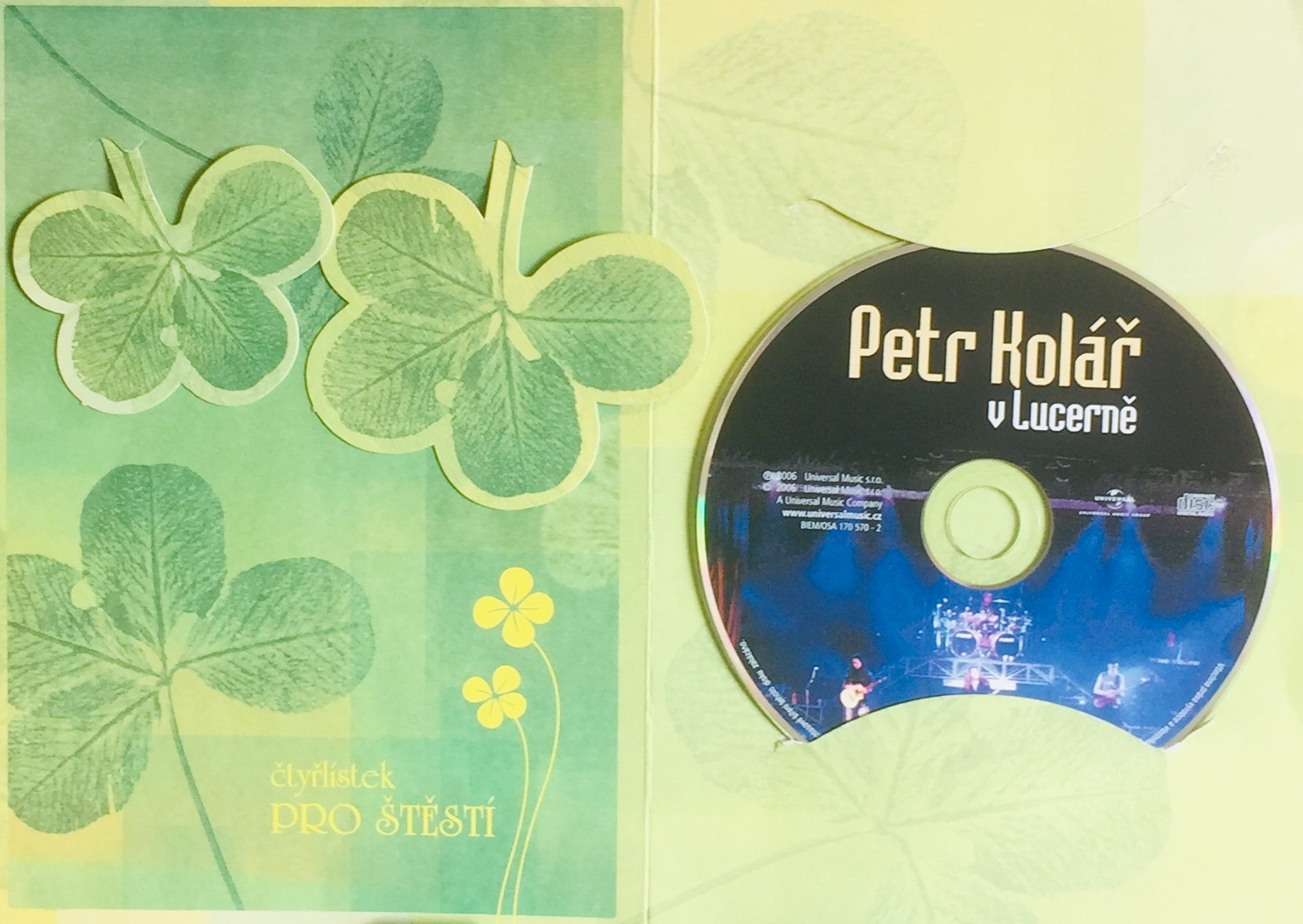 Petr Kolář v Lucerně - DVD /dárkový obal/