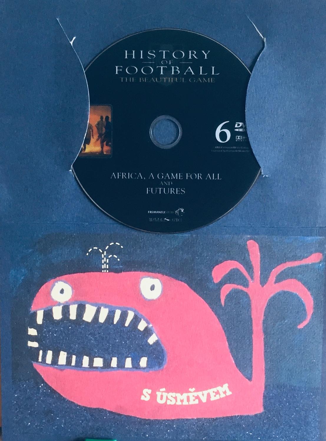 History of Football 6 / Historie fotbalu 6 - DVD /dárkový obal/