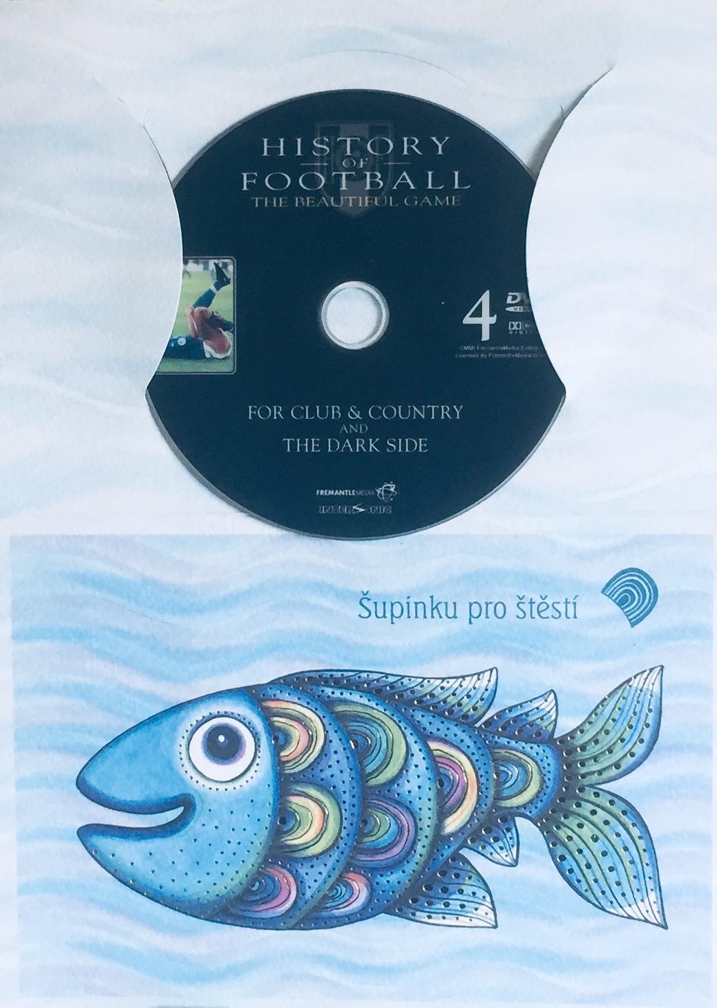 History of Football 4 / Historie fotbalu 4 - DVD /dárkový obal/